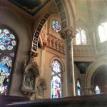 Inside of St. Joseph's Catholic Church, Macon, GA