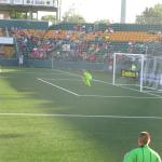 Sahlen Stadium - shot on goal!