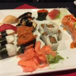 Some of the finest sushi I have ever eaten. I love the Avocado Bomb. Every time I come, I eat to