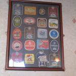 Old Toad - framed bar coasters