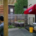 patio near house
