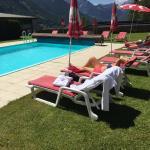 beheizter Pool zum Relaxen