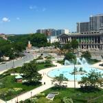 The view of Logan Circle