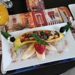 The appetizer for breakfast!