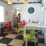 Orange Octopus Is  great place to grab something to cool yourself down after being in the sun! W