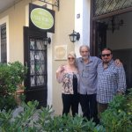 i and my mother with Stavros.Thank you for everything.