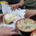 Labneh cheese Sandwich