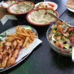 Fattoush, Grill Chicken,