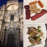 Magnifica cena al lado de la catedral como siempre sus tapas espectaculares...Y el servicio inme