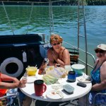 Pontoon picnic