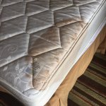 This is the Mattress that awaited us after our Second room. We notified the manager. She called