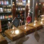 Good range of beers.