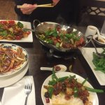 Homestyle duck stir fry and other goodies (new to their menu)