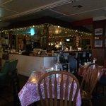 the bar area at Masa