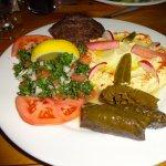 Combination Platter - Cedar's Eatery