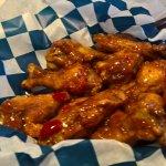 sweet chili wings