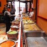 Almuerzo buffet en el Restaurante del hotel