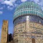 dome of Bibi Khanum mosque
