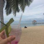 The welcome drink, Purple Rain