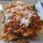 Marinara Sauce Veg Overcooked Not Al Dente Pasta