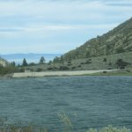Water Level to the Dam, Lundy Lake, Lee Vining, Ca