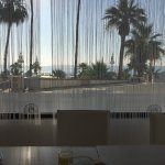 The view from the balcony is great, also the breakfast room has a nice panorama over the beach.