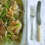 Cavendish Cooks Chicken with Fennel on Rice