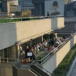 Riverside dining at Terrace Restaurant with views over Thames