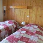 chambre double lits jumeaux