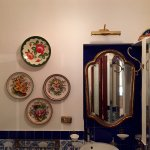 very large and beautifully decorated bathroom