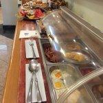 Une partie du buffet salé