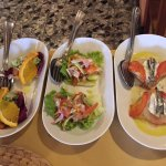 """just 3 out of 6 or 7 different pieces of the """"antipasto misto"""""""