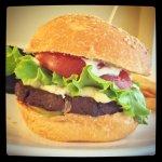 Le Vegan Cheese Burger