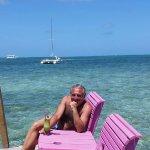 """Mara's Beach Bar"" - Caye Caulker - Belize"