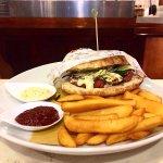 Hamburger di mare al tonno fresco