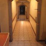 Vista do corredor