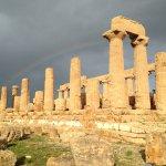 Rainbow Behind Temple of Juno, Agrigento