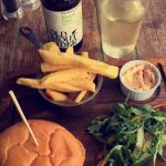 Burger and Cider :)