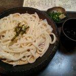 Cold tenobe udon