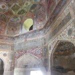 見事なニッチェと天井の壁画