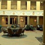 Lounge in central atrium