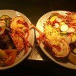 Fresh lobster simply prepared