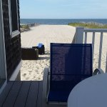View from the beach house patio