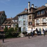 The pretty town of Colmar