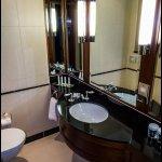 A nice bathroom too