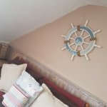 Family room with en suite and sea views Sleeps 4