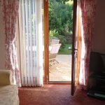 view from the sitting room area