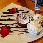 Dessert! Was really decadent!