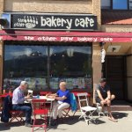Bear's Paw Bakery Outdoor Seating