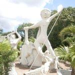 Estátua Lenda do Cabeça de Cuia
